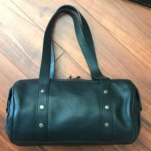 Vintage Marc Jacobs black leather shoulder bag